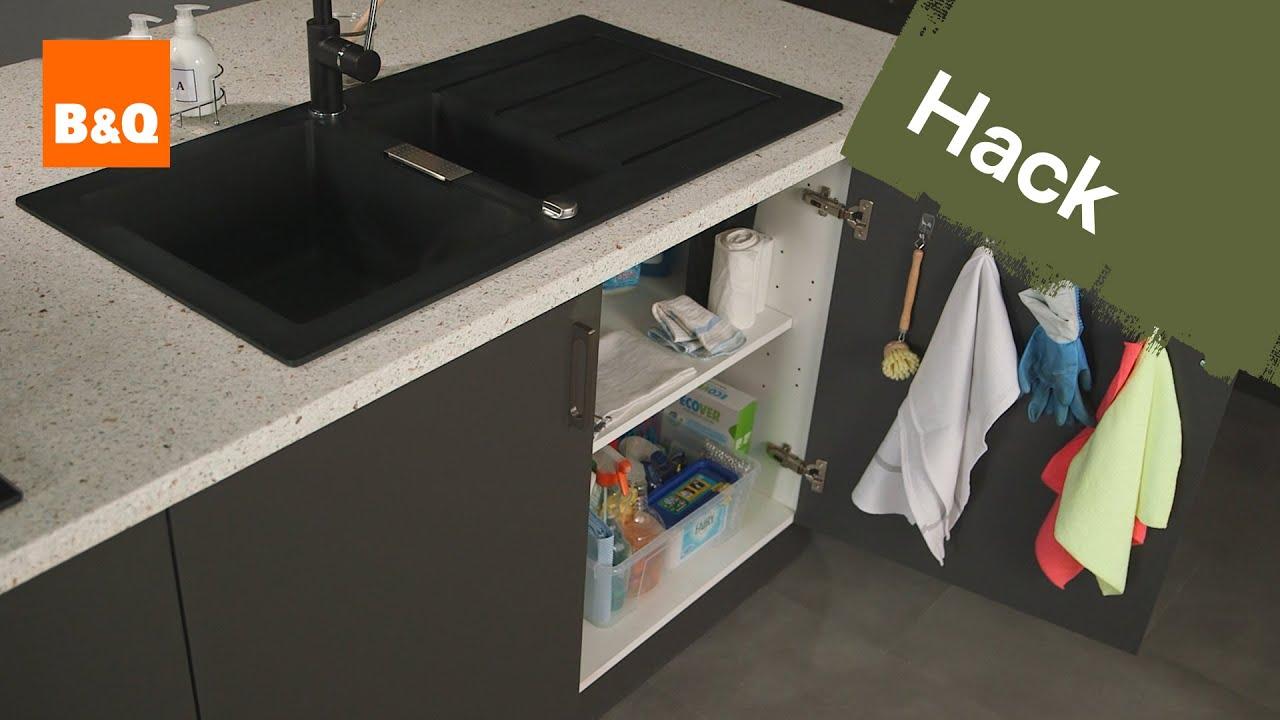 Kitchen storage solutions: under sink space savers - YouTube