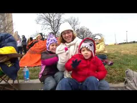 Dominion Christmas Parade   Ted Linhart Interview Richmond VA 2013