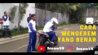 Download Video SAFETY RIDING COURSE : TUTORIAL MENGEREM YANG BENAR ( BRAKING TUTORIAL) MP3 3GP MP4