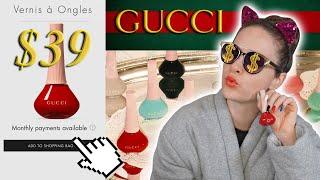$500 Gucci Luxury Nail Polish Haul Review🤑