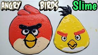 Cara membuat Angry Birds Slime Tutorial
