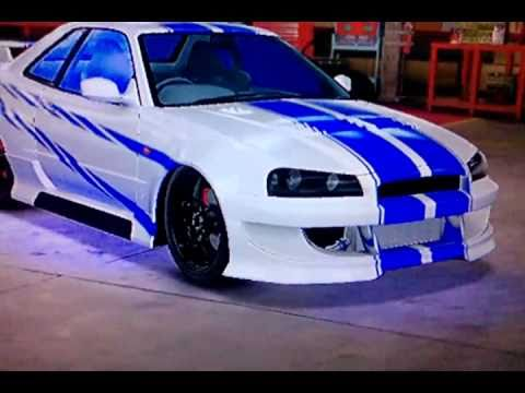 midnight club los angeles 2 fast 2 furious brians nissan skyline gtr neon tuning hd - Fast And Furious Cars Skyline