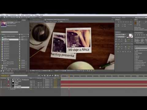 Álbum de Fotos Editable After Effects (Photo Álbum)