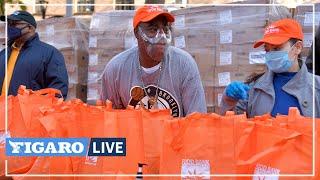 🍲 Les New-Yorkais dans le besoin reçoivent des paniers-repas pour Thanksgiving