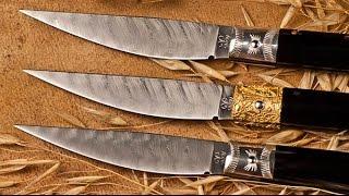 Изготовление ножа ручной работы Сальватор и Мария Гиагу(Мастерская по производству складных ножей Италия., 2015-05-27T17:58:10.000Z)