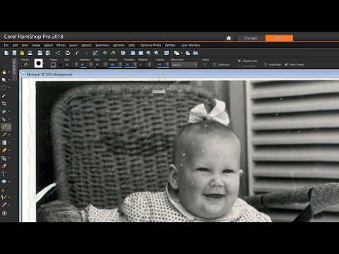 Removing Scratches, Cracks and Dust from Old Photos