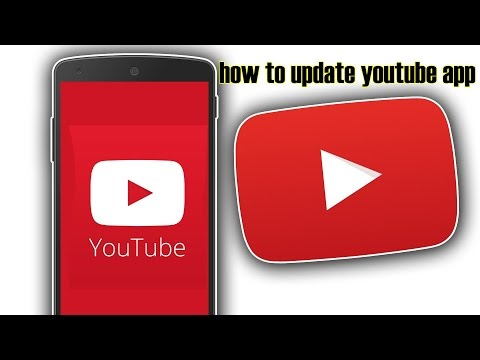 how to update youtube app on android phone
