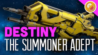 DESTINY The Summoner (Adept) Fully Upgraded Legendary Review (Trials of Osiris)