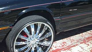 Worlds First Buick Regal Gs On 26s ! (2 Door) Four Seater