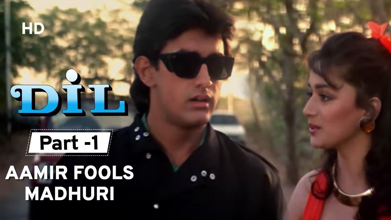 Download Dil (1990) - Movie Part 1 - Madhuri Dixit | Aamir Khan | Romantic Movie