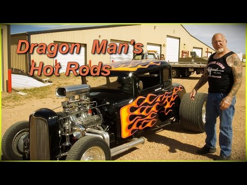 Dragon Man's Hot Rods