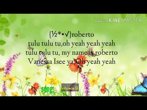 Vanessa mdee ft Roberto vitamin U(officially lyrics)