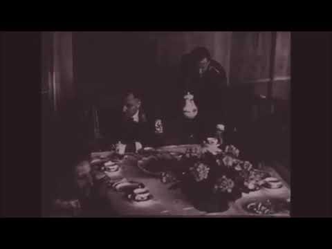 """Eagle's Nest Scharitzkehl Zimmer """"Eva Braun's tea room"""" in 1944"""