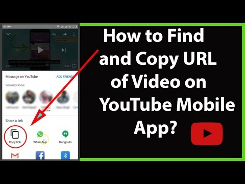 How To Find And Copy URL Of Video On YouTube Mobile App On Android?