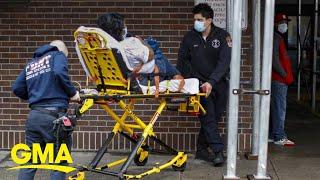Coronavirus cases skyrocket in US, officials estimate thousands of fatalities l GMA