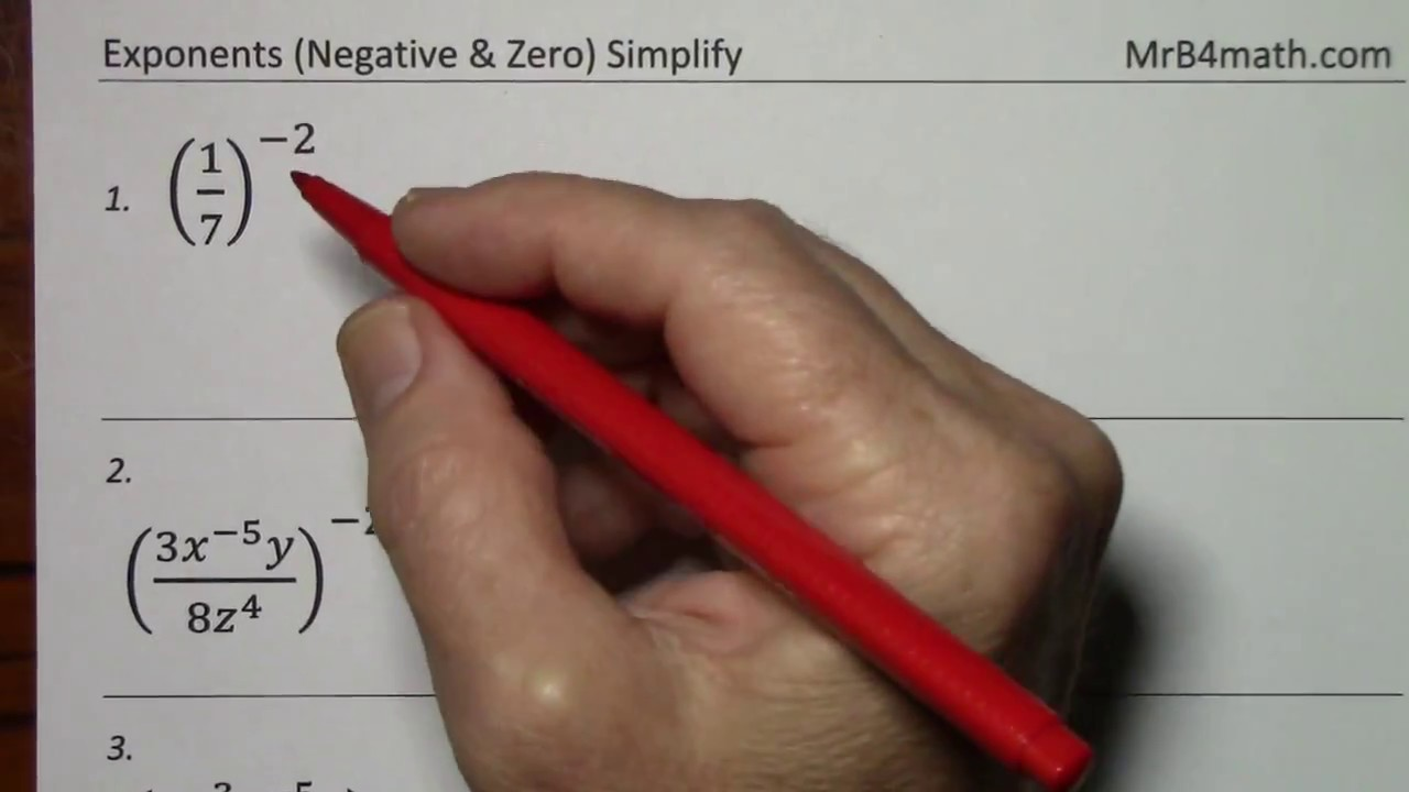 algebra expression positive negative and zero These algebra 1 - exponents worksheets produces problems for working with exponents with division you may select the problems to contain only positive, negative or a mixture of different exponents these exponents worksheets are a good resource for students in the 5th grade through the 8th grade.