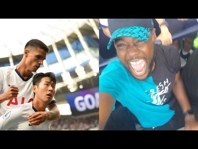 SON HEUNG MOTM-MIN 손흥민 | Tottenham 4 vs Crystal Palace 0 EXPRESSIONS VLOG | PALACE HOLD 4