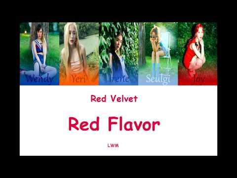 Red velvet-red flavor 韓文中字 空耳 English  LWM