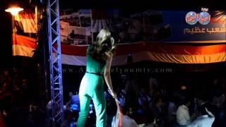 كارمن سليمان تحتفل مع جمهورها بعيد تحرير سينا من قصر عابدين
