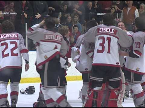 Section 4AA Boys Hockey - Stillwater vs Hill-Murray Overtime Game Winning Goal