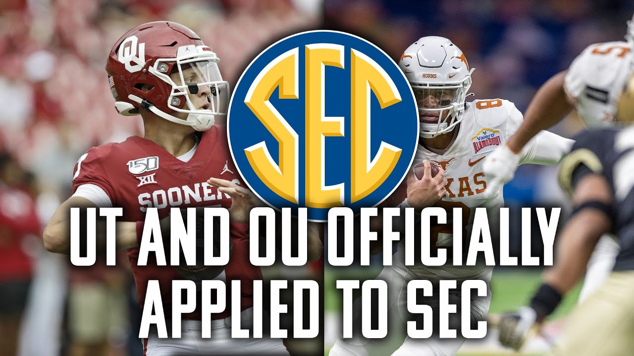 Download Texas and OU Formally Apply For SEC | Big 12 | The Bear Cast