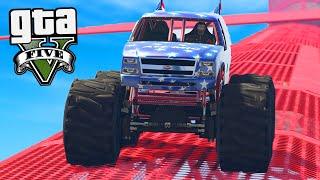 GTA Online: Os Stunts de THE LIBERETOR !!! -Corrida ACROBÁTICA #7