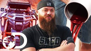 The Diesel Brothers Inspect Rock Crawler For A Leak | Diesel Brothers