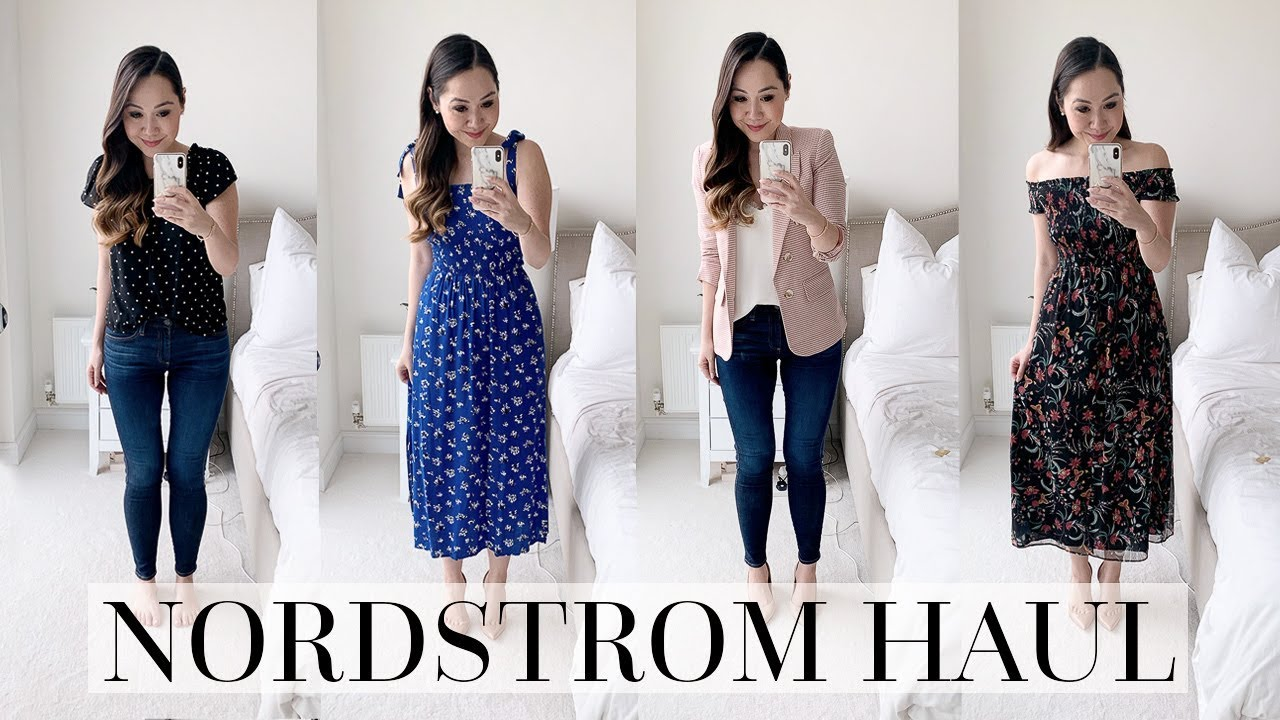 3d1cae954b7c NORDSTROM SPRING TRY ON HAUL! Chase Amie