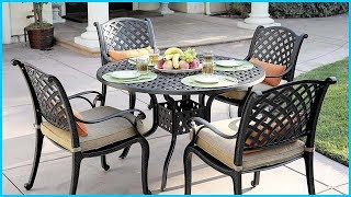 Best Outdoor Patio Dining Table Sets In 2019 – Buyer's Guide