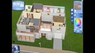 Blueprints Only: Sims 3 Family Home