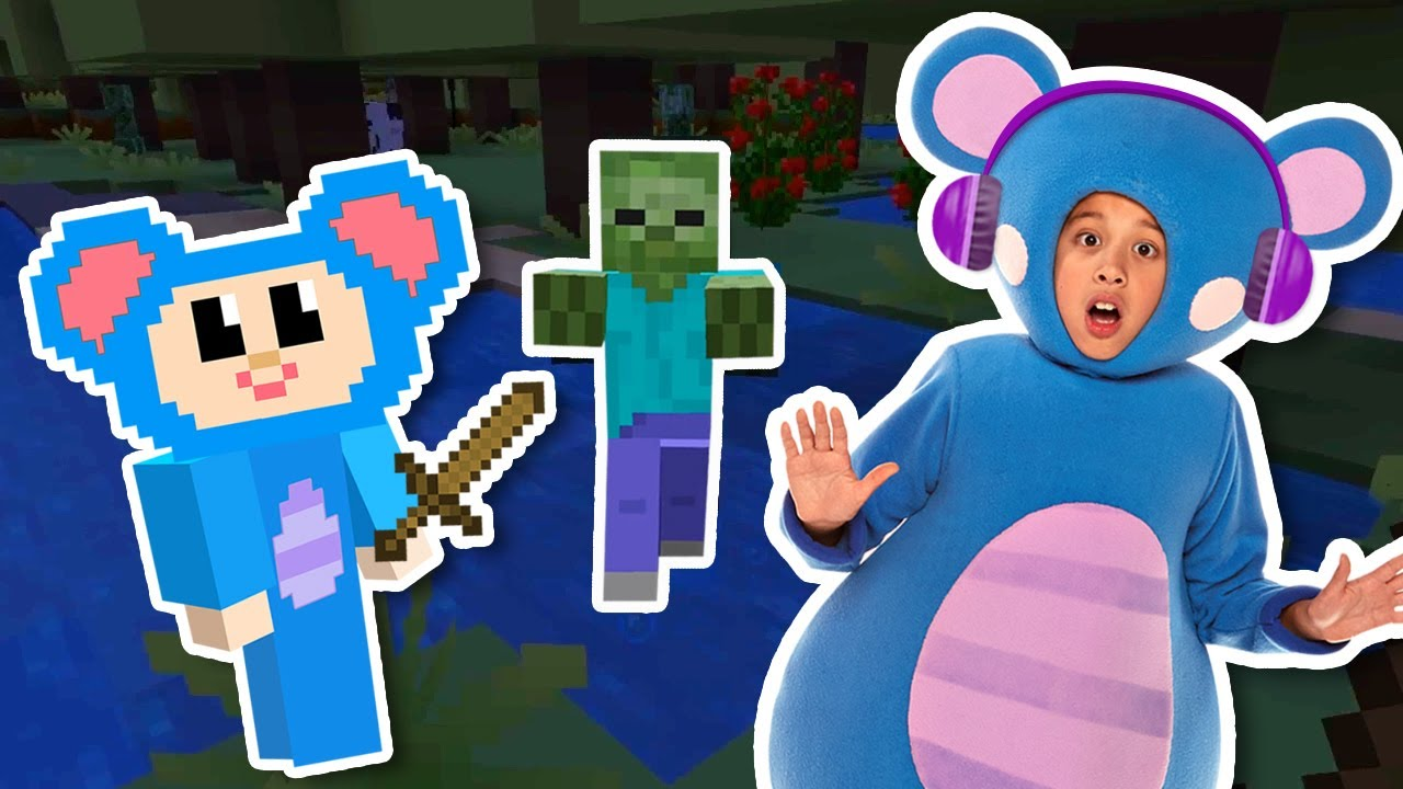 Eep Survival Mode EP 1 + More | Mother Goose Club Let's Play