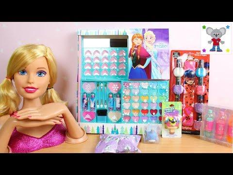 Maquillaje para niñas de FROZEN Manicura de LADYBUG y Brillos Labiales CLAIRES Maquillando a Barbie