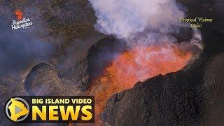 best volcano eruption footage