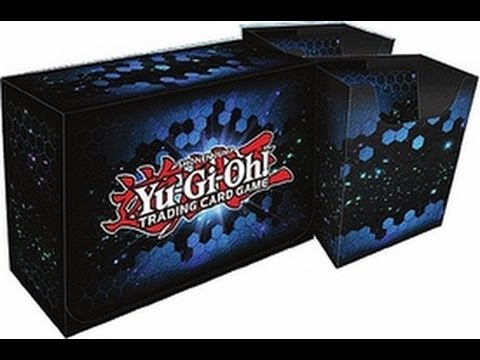 Konami Yugioh Card Game Storage Red Dual Double Deck Box Version #3 Red Overig