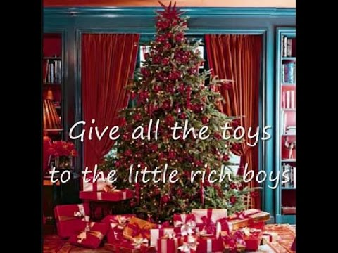 The Kinks - Father Christmas (lyrics on clip)