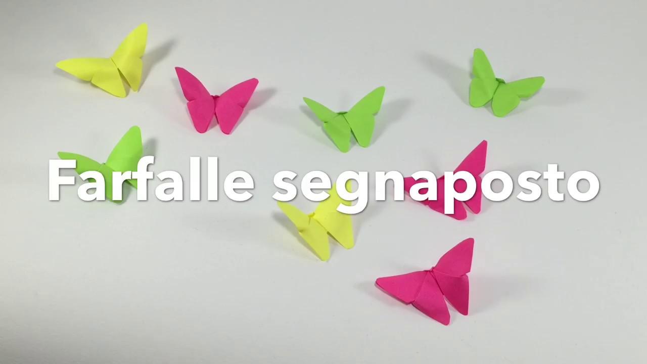 Farfalle segnaposto fai da te idee creative fai da te for Idee arredamento soggiorno fai da te