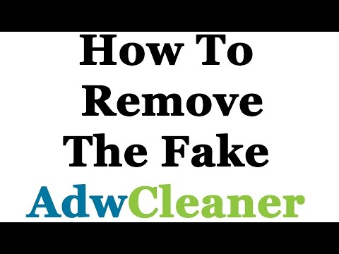 How To Completely Remove The FAKE AdwCleaner (AdwareBooC)