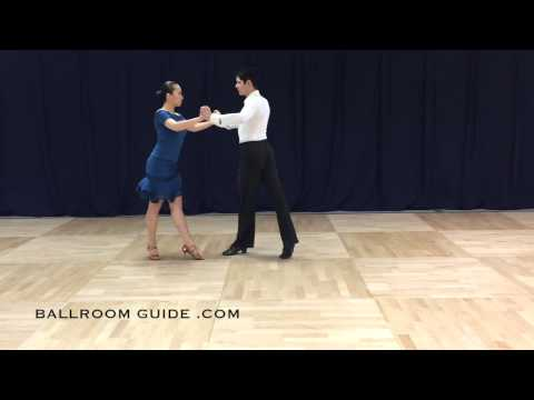PreBronze Cha Cha: Three Cha Cha Chas Forward, Back, in RSP, and in LSP