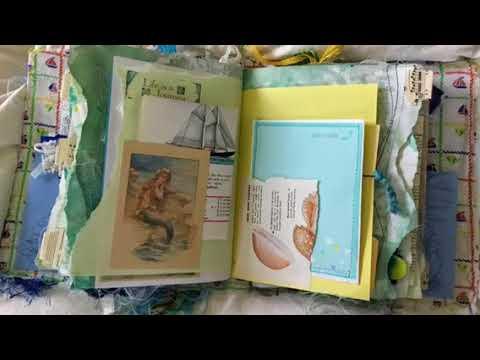 Mermaid Junk Journal 7 FOR SALE