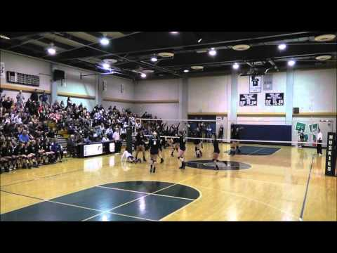 Norco Girls Volleyball v Chino Hills 2015