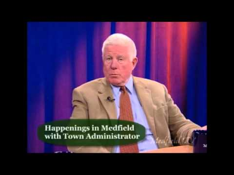 Happenings in Medfield with Town Administrator (3/15)
