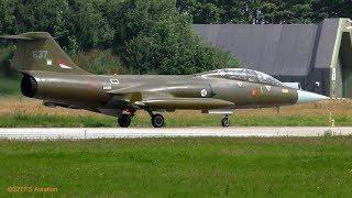 Takeoff followed by Precautionary landing CF104D Starfighter Leeuwarden AB (EHLW)