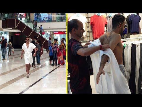 Shopping In Bathrobe | by Vinay Thakur