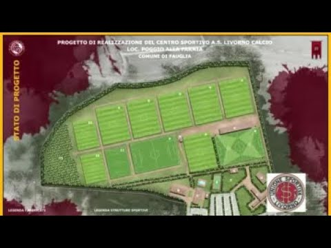 Presentazione Progetto Nuovo Centro Sportivo A.S. Livorno Calcio (15-11-2019)