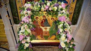 Всенощное бдение накануне Дня Святой Троицы