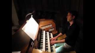 J. S. Bach - Final de la passion selon St Matthieu  (transcription Charles-Marie Widor)