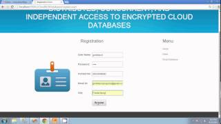 Distributed, Concurrent, and Independent Access to Encrypted Cloud Databases in dot net