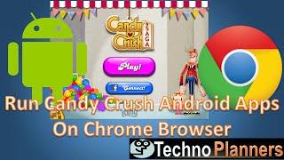 Play Candy Crush Saga Game On PC Chrome Browser