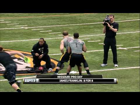 Mizzou Football Pro Day 2014