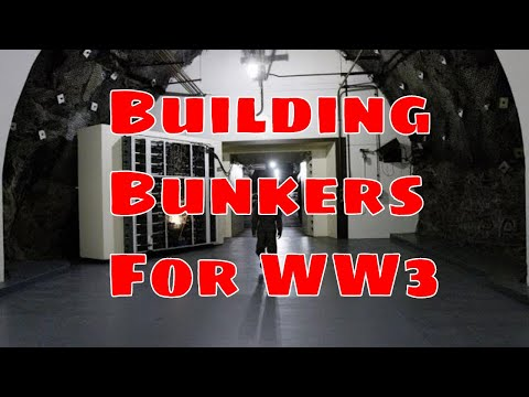 US Government Tunnelling in preparation for WW3 - Bunkers Prepared